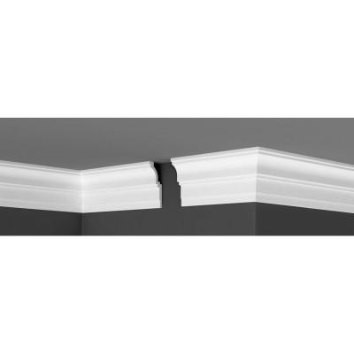 Плинтус Де-Багет потолочный гладкий П 20 100х40х2000 мм