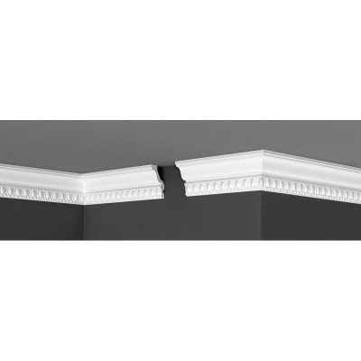Плинтус Де-Багет потолочный с узором ДП 03/80 39х70х2000 мм