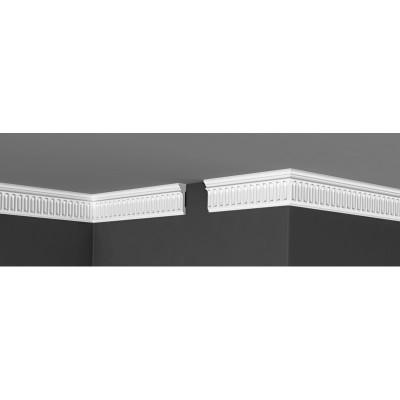 Плинтус Де-Багет потолочный с узором ДП 12/60 20х60х2000 мм