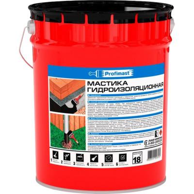 Фото - Мастика гидроизоляционная Profimast 21.5 л 18 кг праймер битумный profimast 4 5кг 5л