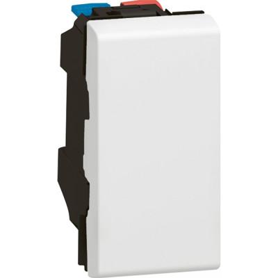Выключатели Legrand Mosaic 10 AX 250 В~ 1 модуль белый 077000