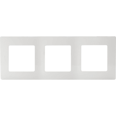 Фото - Рамка Legrand Etika 3 поста белая рамка legrand etika 3 поста алюминий 672553