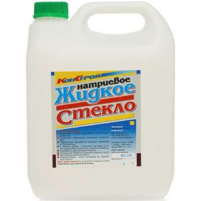 Жидкое стекло КонСтрой натриевое 6 кг