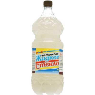 Жидкое стекло КонСтрой натриевое 2.8 кг