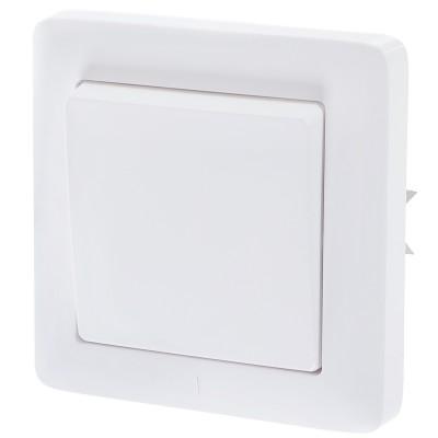 Выключатель одноклавишный Schneider Electric Хит VS16-133-B белый