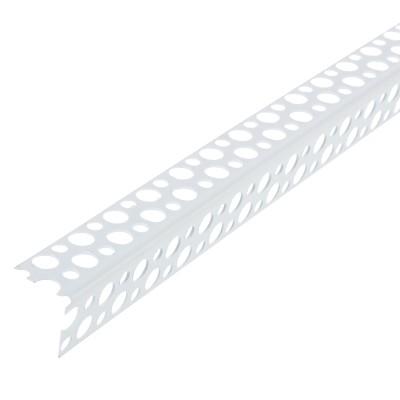 Фото - Профиль перфорированный угловой АЛБЕС ПВХ 25х25x3000 мм профиль албес пн 2 эконом 0 45 мм