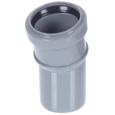 Отвод полипропиленовый PRO AQUA COMFORT d 50 мм х 15 градусов отвод d 110 мм 15 градусов