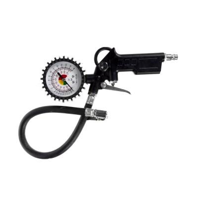 Пистолет для подкачки шин Foxweld с манометром 5537