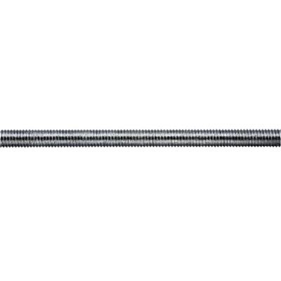 Шпилька резьбовая оцинкованная усиленная DIN 975 M30x1000 мм шпилька резьбовая оцинкованная м14х2000 мм