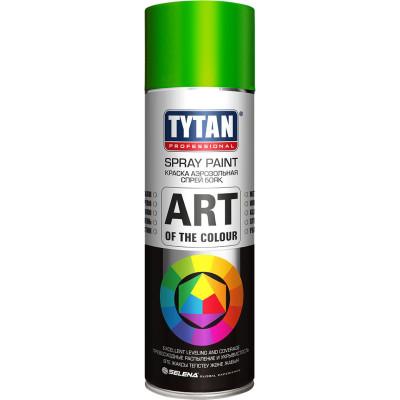 Краска акриловая Tytan Professionaln Art Of The Colour 6018 аэрозольная светло-зеленый 400 мл