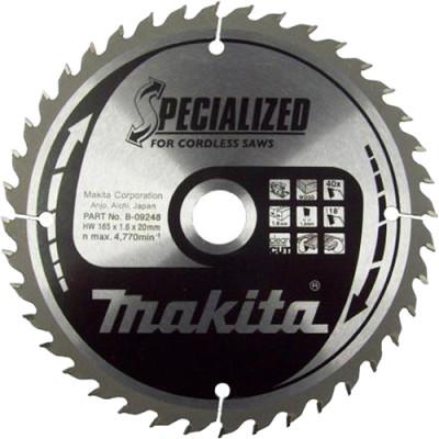 Диск пильный Makita по дереву 85x15x1 мм 20 зубьев B-31142 диск makita standart b 29234 пильный по дереву 260x2 3x30mm 40 зубьев