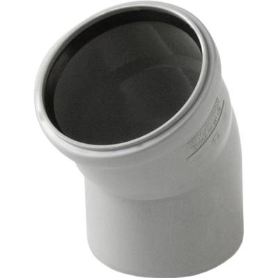 Отвод полипропиленовый PRO AQUA COMFORT d 110 мм х 30 градусов отвод d 110 мм 15 градусов