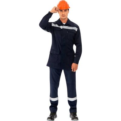 рубашка муж oodji lab цвет темно синий оптический белый 3l110247m 44425n 7910d размер 40 182 48 182 Куртка Мастер темно-синий размер 48-50 рост 182-188