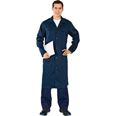 рубашка муж oodji lab цвет темно синий оптический белый 3l110247m 44425n 7910d размер 40 182 48 182 Халат Техник темно-синий размер 48-50 рост 182-188