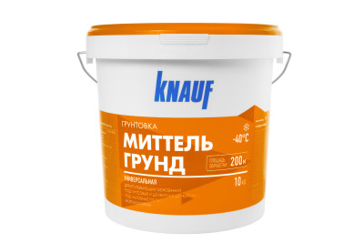 Грунт под штукатурку Knauf Миттельгрунд F 10 кг