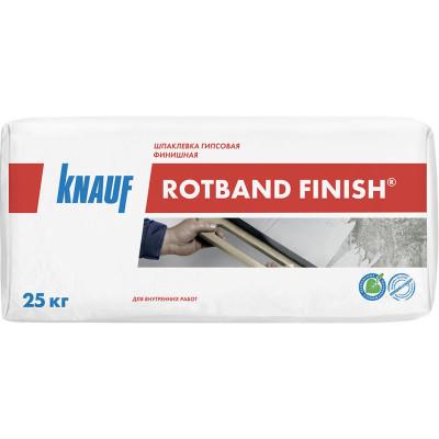 Гипсовая шпаклевка Knauf Ротбанд финишная белая 25 кг
