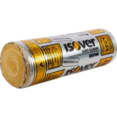 Теплоизоляция Isover Сауна 1200x12500x50 мм 15 м2