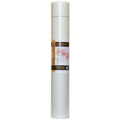 Сетка стеклотканевая фасадная Wand Master ячейка 5х5 мм 1х50 м 160 гр/м2 белая сетка стеклотканевая щелочестойкая крепикс ячейка 10х10 мм 1х100 м 115 гр м2