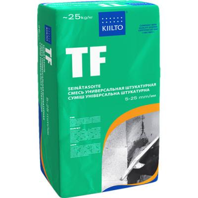 Фото - Штукатурка цементная KIILTO TF 25 кг штукатурка цементная weber vetonit тт40 универсальная 25 кг