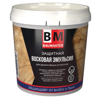 Защитная восковая эмульсия BAUMASTER 0.9 кг шнек для мотобура baumaster ea 2030x 200