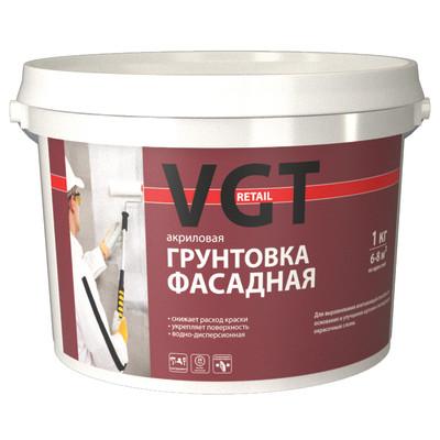 Грунтовка фасадная VGT RETAIL ВД-АК-0301 10 кг