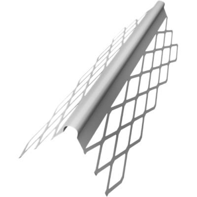 Профиль угловой АЛБЕС оцинкованный сетчатый PL 35х35х3000 мм