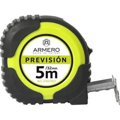 Фото - Рулетка с фиксатором Armero Prevision 32 мм 5 м рулетка armero 5 мх19 мм магнитная с автостопом