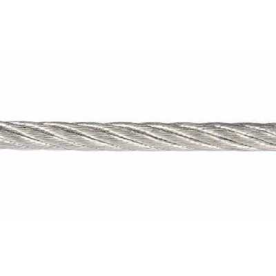 Трос стальной оцинкованный D 5 мм 6x7 FC 250 м