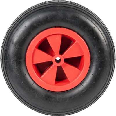 Фото - Колесо для тачки WB4024A-YC колесо для тачки зубр 380х16мм полиуретановое 39912 2