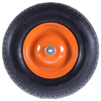 Фото - Колесо пневматическое для тачки Palisad 689883 колесо для тачки зубр 380х16мм полиуретановое 39912 2