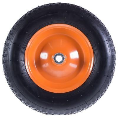 Фото - Колесо пневматическое для тачки Palisad 689833 колесо для тачки зубр 380х16мм полиуретановое 39912 2