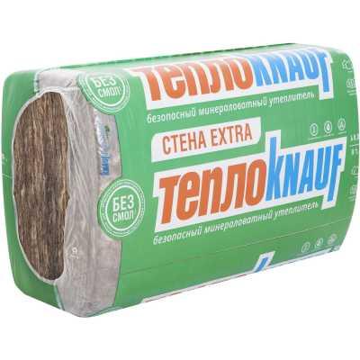Минеральная вата Knauf стеновая плита 50 мм 0.3 м3 в упаковке