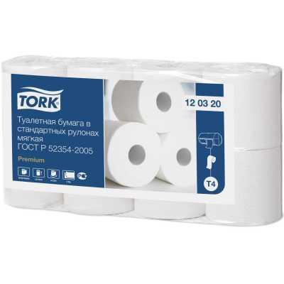 Туалетная бумага Tork Т4 мягкая 8 рулонов