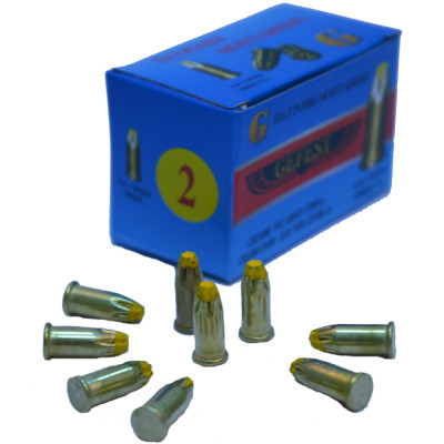 Патрон GEFEST Д2 6.8х18 мм желтый, 100 шт. Д- 2