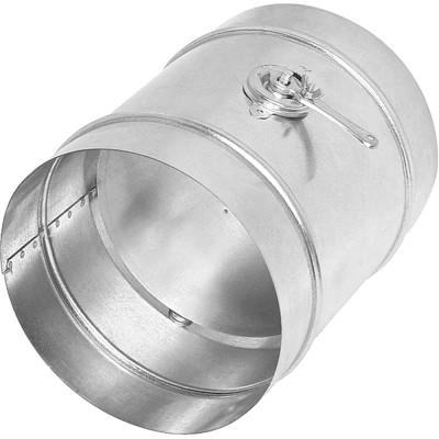 Дроссель-клапан ф100 мм оцинкованная сталь 0.5 мм