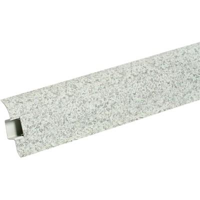 Плинтус напольный ПВХ IDEAL Идеал Комфорт 55 мм 2.5 м 171 камешки