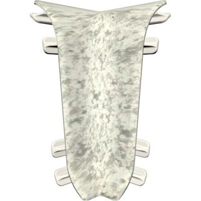 Угол внутренний для плинтуса IDEAL Идеал Комфорт 55 мм 171 камешки, 2 шт.