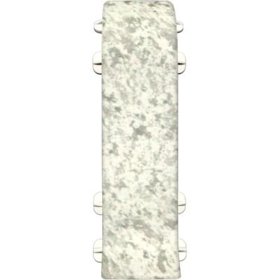 Соединитель для плинтуса IDEAL Идеал Комфорт 55 мм 171 камешки, 2 шт.