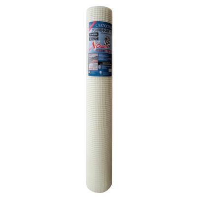 Сетка стеклотканевая усиленная X-Glass Pro 10х10 мм 1х50 м 115 гр/м2 сетка стеклотканевая щелочестойкая крепикс ячейка 10х10 мм 1х100 м 115 гр м2