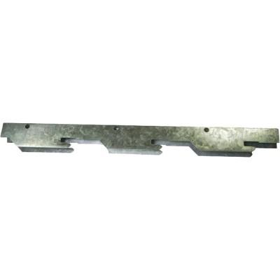Фото - Рейка фасадная стальная Cesal ПФС 150 белая матовая 3 м рейка сплошная омега а 3 м 100ат эконом белая