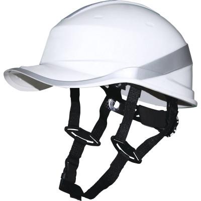 Каска защитная Delta Plus Baseball Diamond V Up ABS-пластик белая