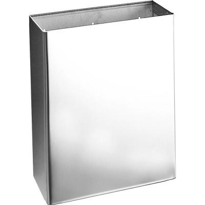 Контейнер для мусора Nofer 14077.S подвесной нержавеющая сталь серебристый 435x355x155 мм урны для мусора nofer nofer контейнер для мусора 23 л push open 14078 s
