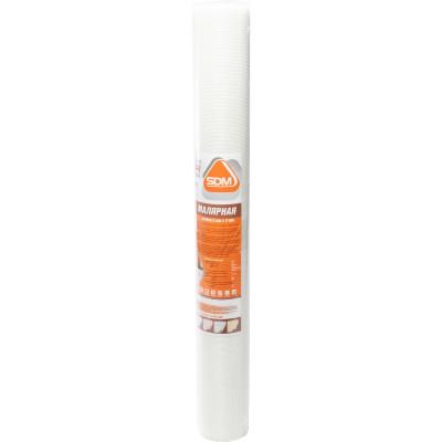 Сетка стеклотканевая малярная SD-GLASS Professional ячейка 2х2 мм 1х50 м± 10% 45 гр/м2 сетка стеклотканевая щелочестойкая крепикс ячейка 10х10 мм 1х100 м 115 гр м2