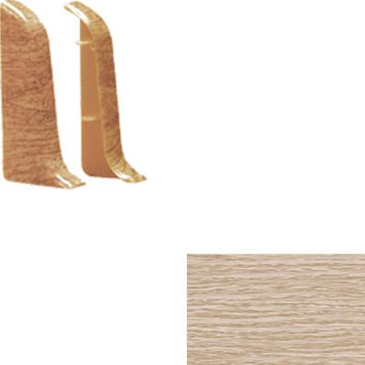 Торцевые для плинтуса IDEAL Идеал Альфа 45 мм 213 дуб северный 1 пара