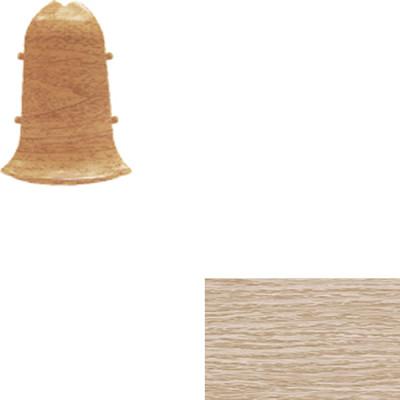 Угол наружный для плинтуса IDEAL Идеал Альфа 45 мм 213 дуб северный, 2 шт.