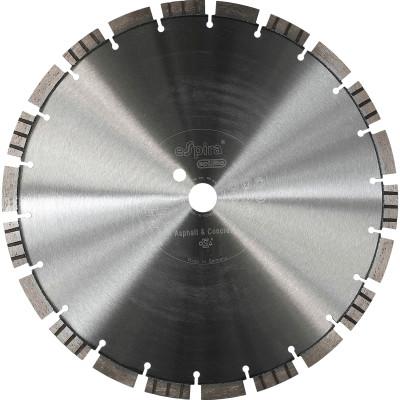 Диск алмазный по асфальту и бетону Espira FX-215 Optima сегментный сухой рез 350x25.4 мм