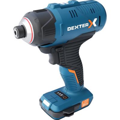 Гайковерт аккумуляторный ударный Dexter 20 В без аккумулятора аккумуляторный ударный гайковерт metabo ssd 18 lt 602196850