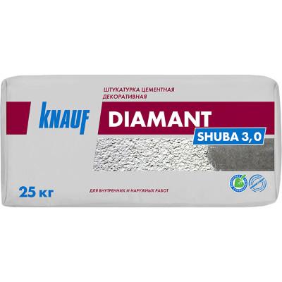 Фото - Цементная штукатурка Knauf Диамант Шуба 2.5 25 кг штукатурка цементная weber vetonit тт40 универсальная 25 кг