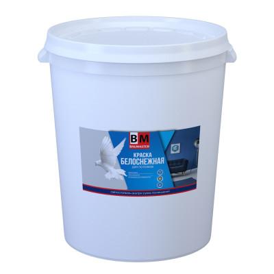 Краска для потолков BAUMASTER ГОЛУБКА ВД-АК-2180 белоснежная 45 кг шнек для мотобура baumaster ea 2030x 200