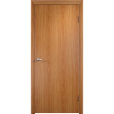 Дверное полотно глухое гладкое Verda 2000х600 мм финиш-пленка миланский орех